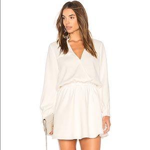 NWT Line & Dot Marais Dress in White Size S